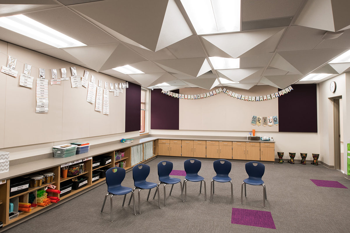 Northwest Elementary Music Room