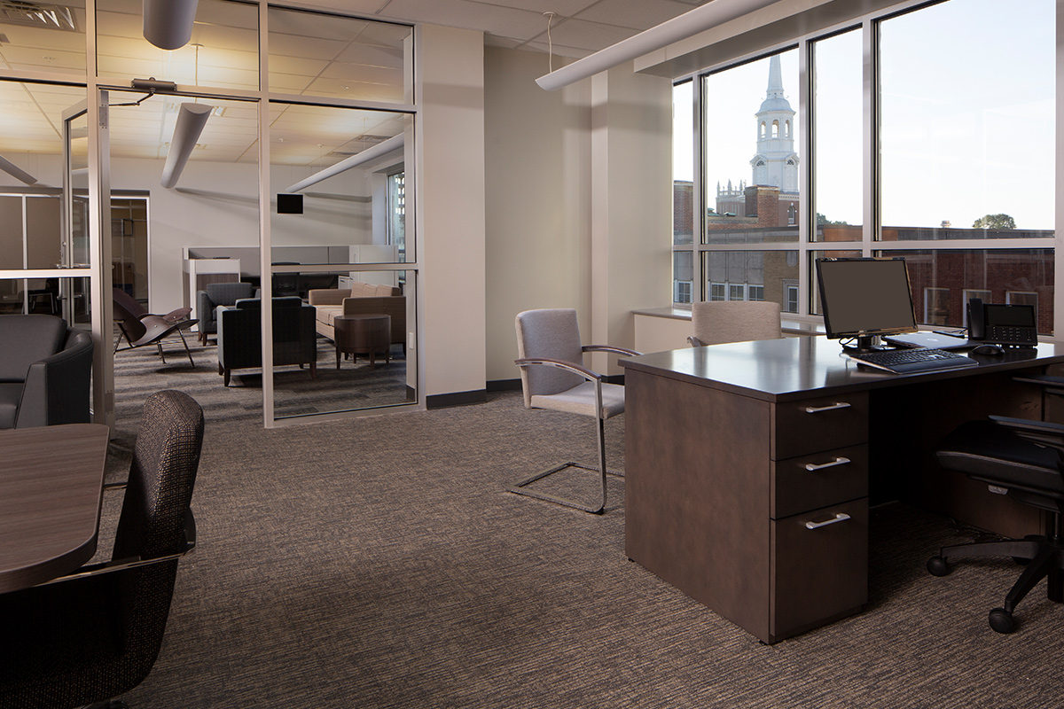 Woodstream Corporate Executive Office Space renovated office