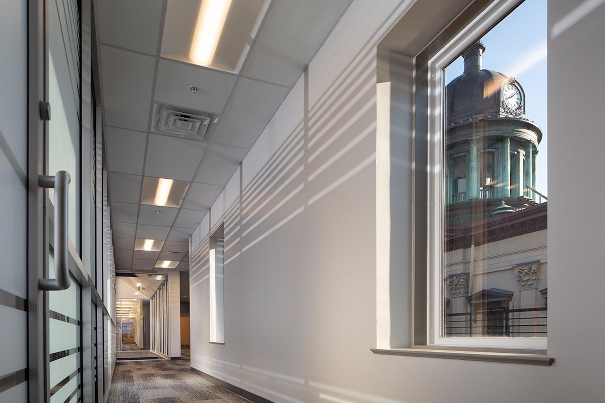 Woodstream Office Hallway
